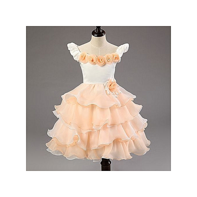 9744c812fa37 Children Dresses For Girls Kids Formal Wear Princess Dress For Baby Girl 8  Year Birthday Party