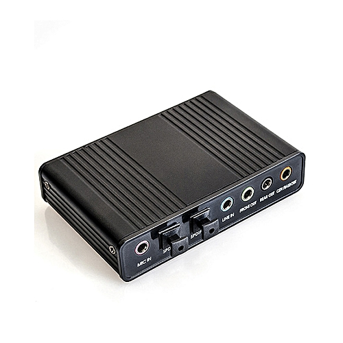 USB 2.0 Sound Card Optical Controller Audio Adapter For PC