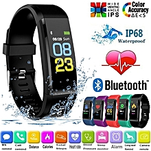 a397902747e Fitness Tracker Smart Wristband Bluetooth Waterproof With Blood Pressure  Heart RateSleep Pedometer
