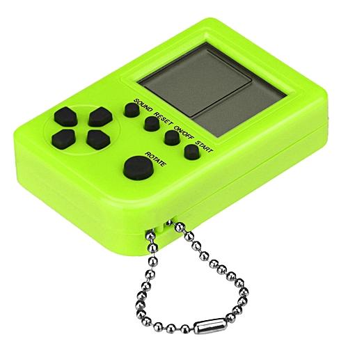 Mini Retro Tetris Game Console Students Pendant Recreational Machines