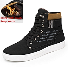 866f163ec2a Men Shoes Autumn Winter Men Snow Boots Leather For Shoes