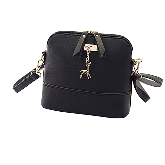 2c5780d5a0ee Hiamok New Women Messenger Bags Vintage Small Shell Leather Handbag Casual  Bag BK