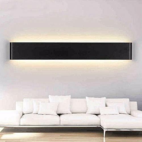 WangWang Store20W Aluminum LED Wall Lamp Bathroom Mirror Light White Shell (Warm White)