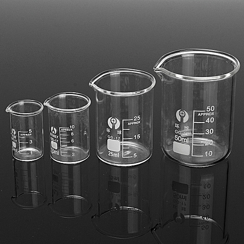 181380318940 SIMAX Glass Beaker Set 5 10 25 50 100 150 250 400 Ml Heat Proof Containers Pyrex