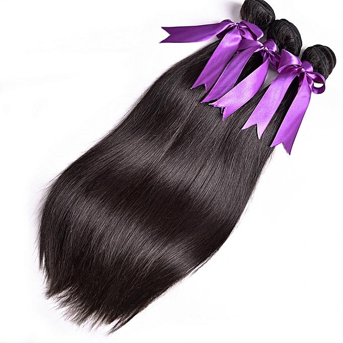 Buy Generic 8 28 Inches One Piece Peruvian Straight Hair Bundles