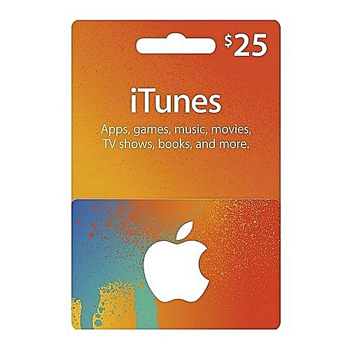 $25 ITunes Gift Cards - USA