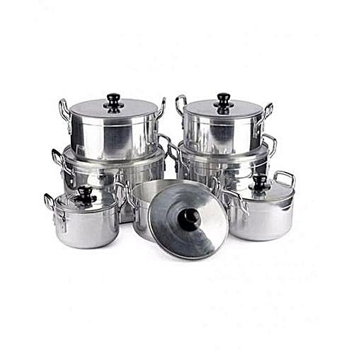 7 PCS Aluminium Cooking Pots