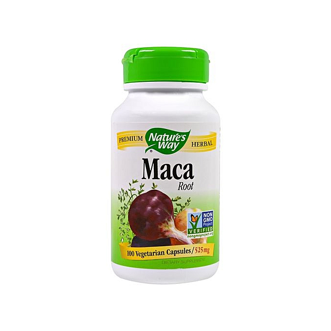 Maca Root, 525 Mg, 100 Capsules