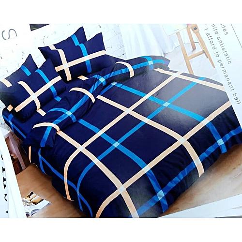 6pcs Set Duvet, Bedsheet With 4pillo Case