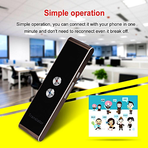 Smart Two-Way Real Time Multi-Language Voice Translator For Learning Travel Meeting