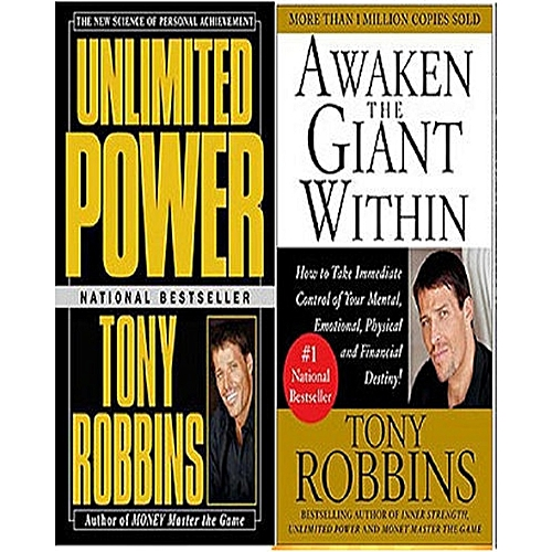 Unlimited Power + Awaken The Giant Within Book Bundle
