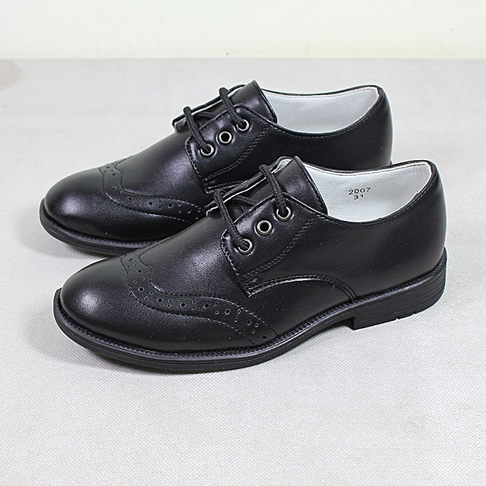Fashion Fellas Formal Shoe Boys Dress Shoes Black Jumia