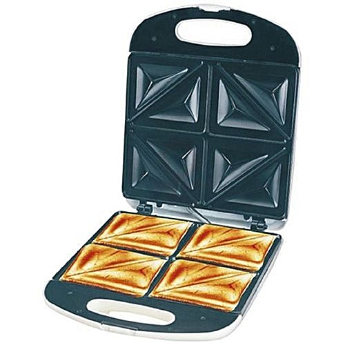 Large Electric 4 Slice Bread Toaster / Sandwich Maker