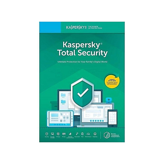 Total Security 2019 1 PC 2 Years Windows Mac Android & IOS