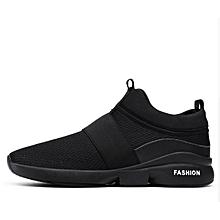8b932beb98 Men's Breathable Casual Sport Sneaker -Black(+ 1 Free Pair