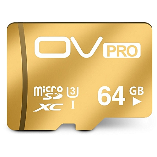 OV PRO 64GB Micro SD Card HC XC Sdhc Sdxc Uhs-i UHS U3 2K 4K DSLR DSLM Video Memory Card 16gb Class10 Cartao Memoria