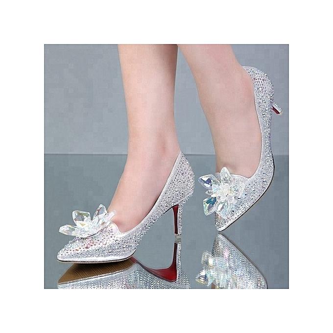cf92d96851a Fashion Rhinestone Female Wedding Shoes
