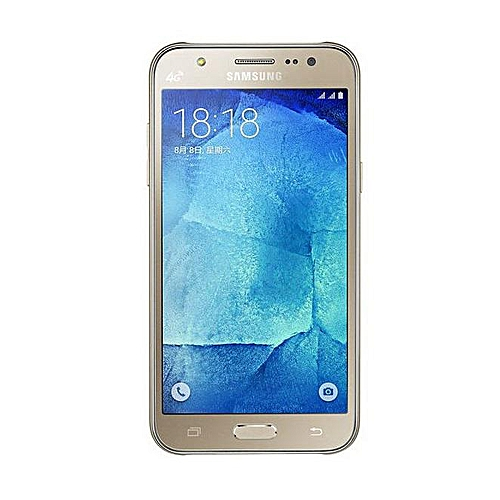 Galaxy J5 SM-J500F 5-Inch (1 5, 8GB ROM) Android Lollipop 5 1 13MP + 5MP  Smartphone - Gold