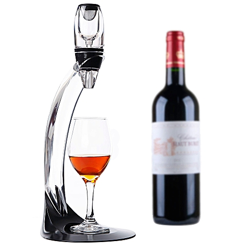 Magic Deluxe LED Wine Aerator Set Essential Decanter Gift Box