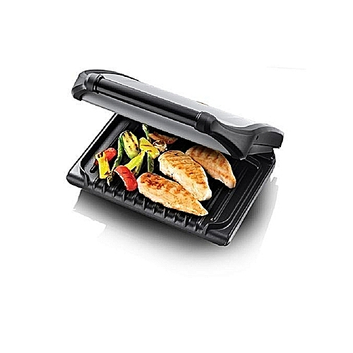 Excellent Health Grill - 5-Portion Family Grill - Silver