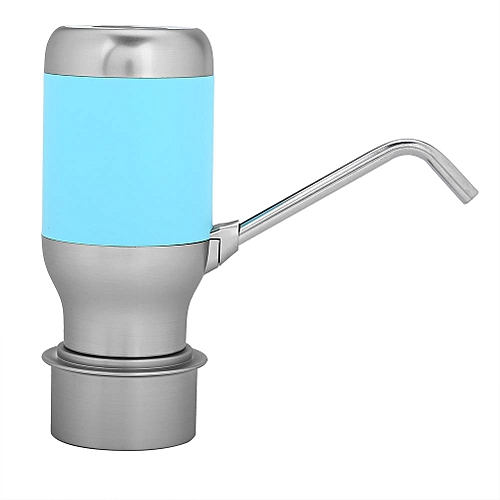 Electric Smart Dispenser Auto Water Bottle Pump USB Rechargeable Stainless Steel