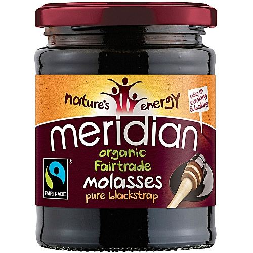 PURE ORGANIC BLACKSTRAP MOLASSES (Unsulphured) 350G