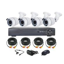 CCTV KIT-High Definition(AHD) with Remote View 4 Channels