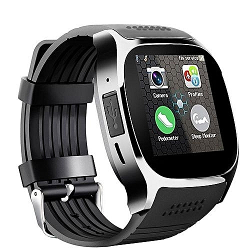 5fd8594835 Generic T8 Bluetooth Smart Watch Support SIM TF Card Camera Smartwatch