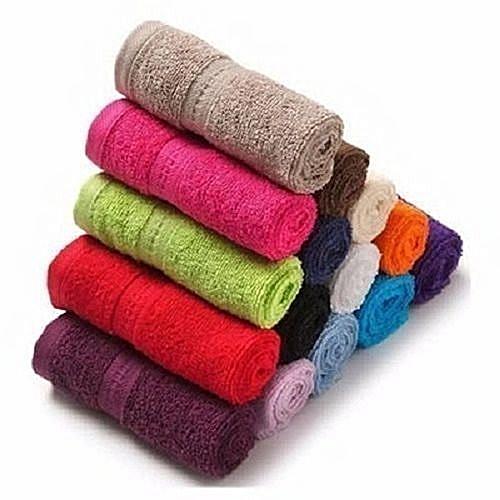 12pcs Face Pure Cotton Towel For Unisex
