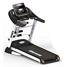 Used, 2HP Treadmill Machine With Incline, Dumbbells & Massager for sale  Nigeria