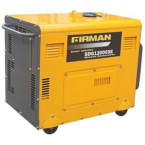 Diesel Generator 100% COPPER COIL SDG12000SE