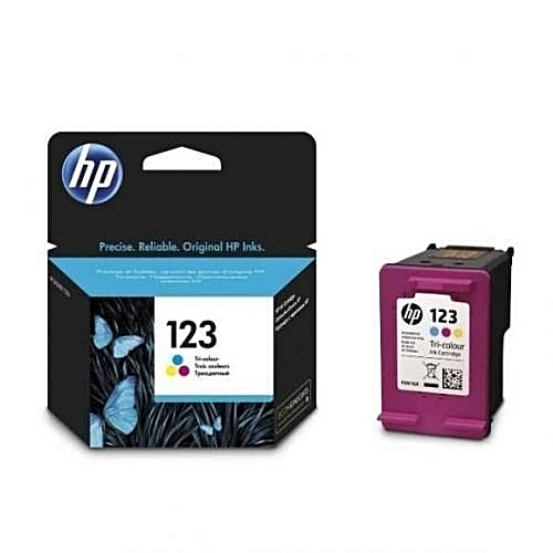 123 Tri-color Ink Cartridge - F6V16AE