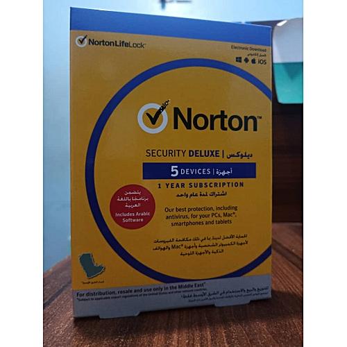 Security Deluxe 5PCs, Macs, Smartphones Or Tablets