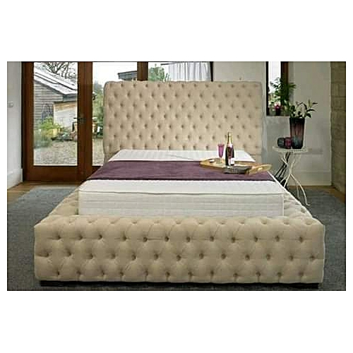 KingMax 6by7 Bedframe ONLY-Free Pillows-Free Lagos Delivery