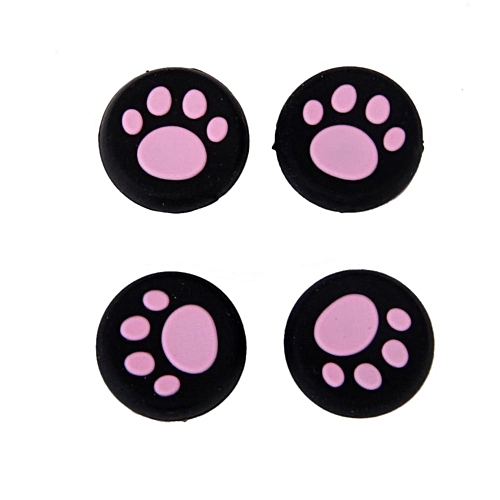 Practical 1 Pairs Cat's Paw Silicone Gel Thumb Grips Caps For Nintendo Switch Controller