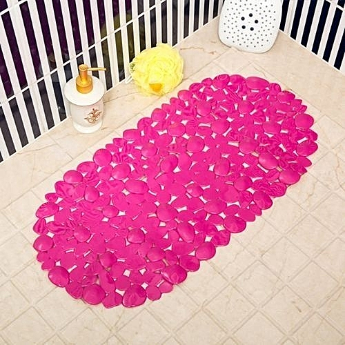 Anti-slip Bath Mat- Pink.Applicable To Bathroom,bathtub And Toilet