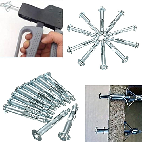 Anchor 10 X HEAVY DUTY HOLLOW WALL ANCHORS Metal/Cavity/Plasterboard Plug/Fixing Screw