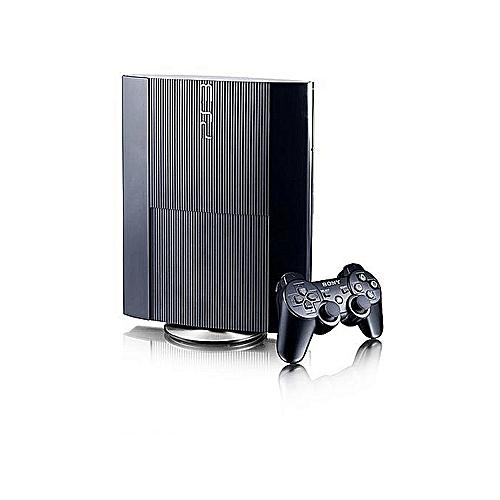 PS3 Super Slim Console 12GB + Extra Ps3 Pad