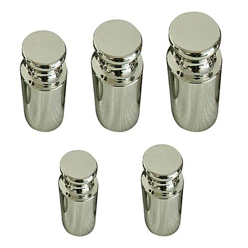 Libra Jewelry Set 5pcs/set Precision Calibration Set Chrome Plating Scale Weights Set 1g 2g 5g 10g 20g Grams For Home Tool