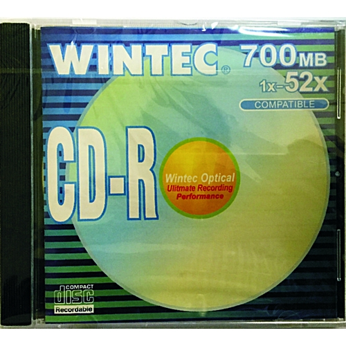 WINTEC CD-R 1CTNX100PCS