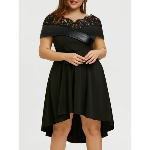 Nigeria Buy Nextmia Plus Size Foldover High Low Party Dress