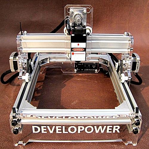 Mini 2000MW DIY Laser Engraving Laser Engraver Laser Cutter / Printer 17x20cm