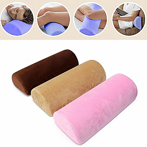 Memory Foam Backacha Neck Knee Legs Pain Relief Support Cushion Bed Pillow Pad Beige