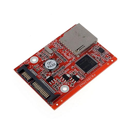 Fenhehu New SD SDHC MMC Card To SATA 7+15pin HDD Hard Disk Drive Converter