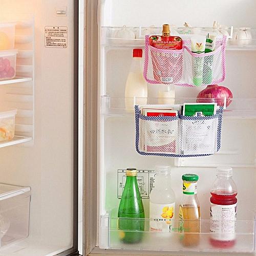 Refrigerator Hang Storage Bag Food Organizer Fridge Holder