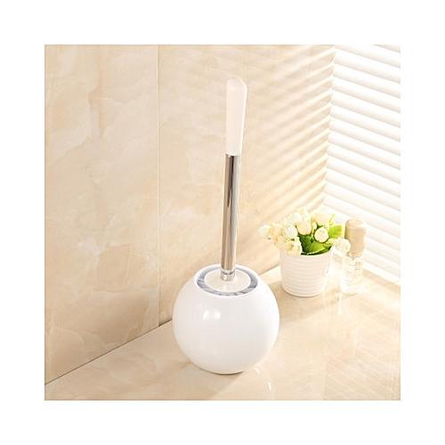 Creative Toilet Brush Bathroom Toilet WC Scrub Cleaning Brush Holder Set Bathroom Cleaning Accessor