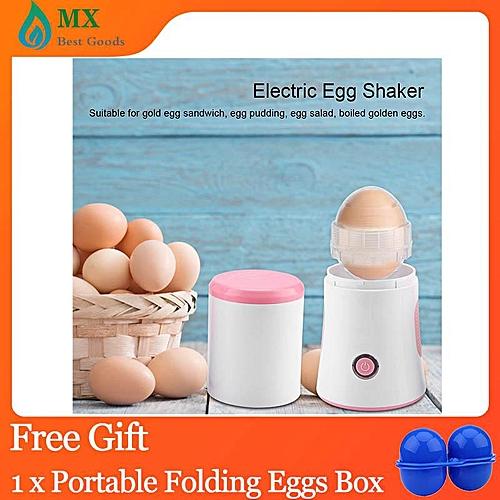 [free Gift] Electric Egg Shaker Scrambler In Shell Eggs Maker Mix DIY Cooking Tools 100-240V US Plug