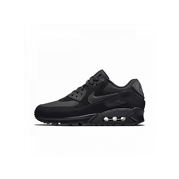 e1c58a587b51 Nike Air Max 90 Essential Black Shoes
