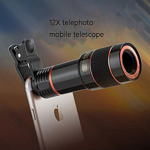 12X Phone Telescope External Telephoto Camera Phone Lens