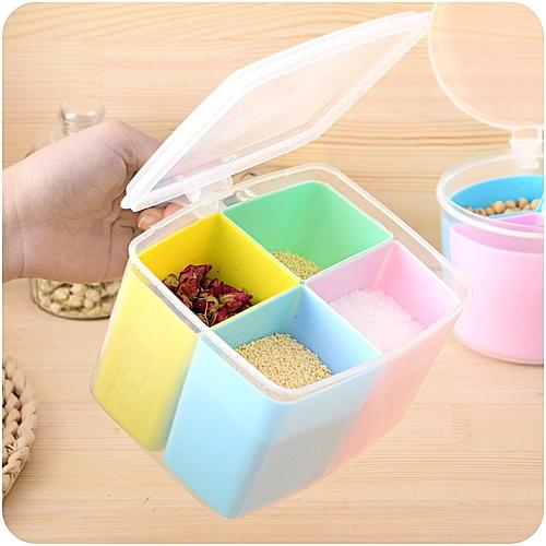 Kitchen Supplies Plastic Seasoning Jar Seasoning Box Multi-grain Seasoning Box Set
